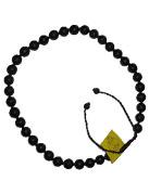 砭石36珠项链