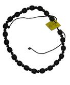 砭石22珠桶珠项链